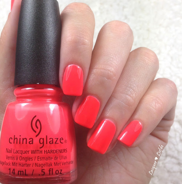 China Glaze Red-y to Rave Electric Nights Kollektion
