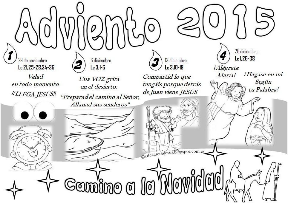 La Catequesis (El blog de Sandra): Calendarios de Adviento 2015 para ...