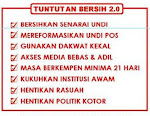 Tuntutan Bersih