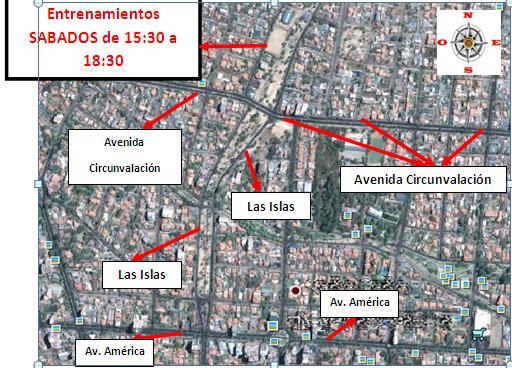 ENTRENAMIENTOS SABADOS A PARTIR DE 01 DE FEBRERO DE 2012