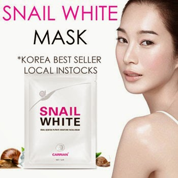 snail white mask review