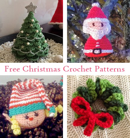 Lets Play Crochet Free Christmas Crochet Patterns