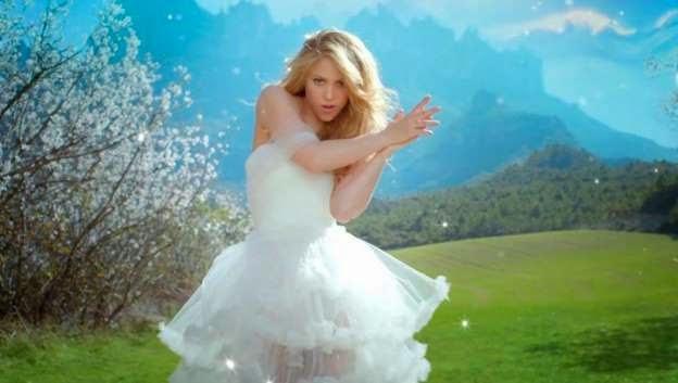 Shakira, la novia de Gerard Piqué (Barcelona)