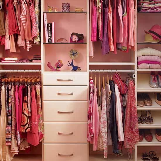 Closets Para Dormitorios Juveniles Walk In Closets Para - Armarios-para-nia