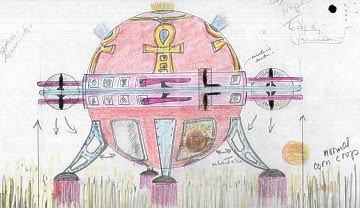 UFO Drawing From British UFO Files Released 2011