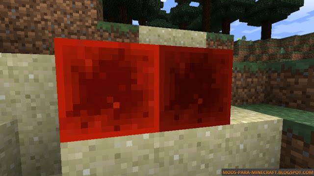 Condensed Redstone Block un bloque le será necesario para crear la super vara