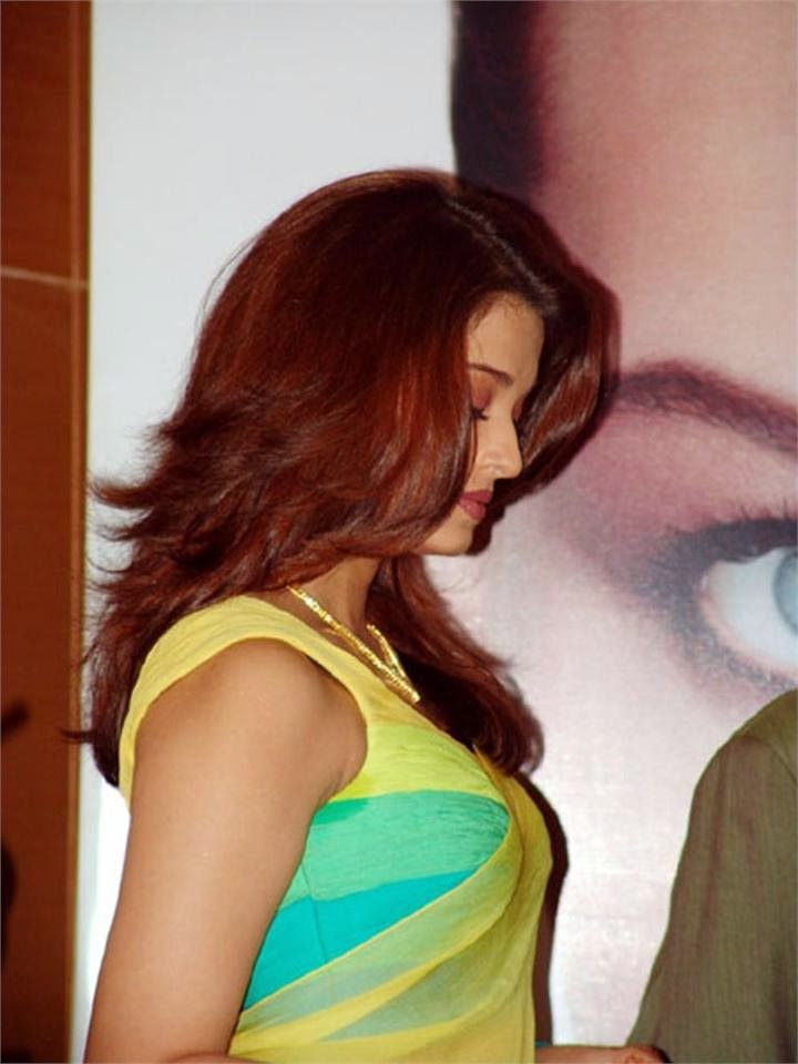 Bollywood Hot Actress In saree Aishwarya Rai In green backless blouse hot cleavage exposed hot party pics of hot bollywood actresses
