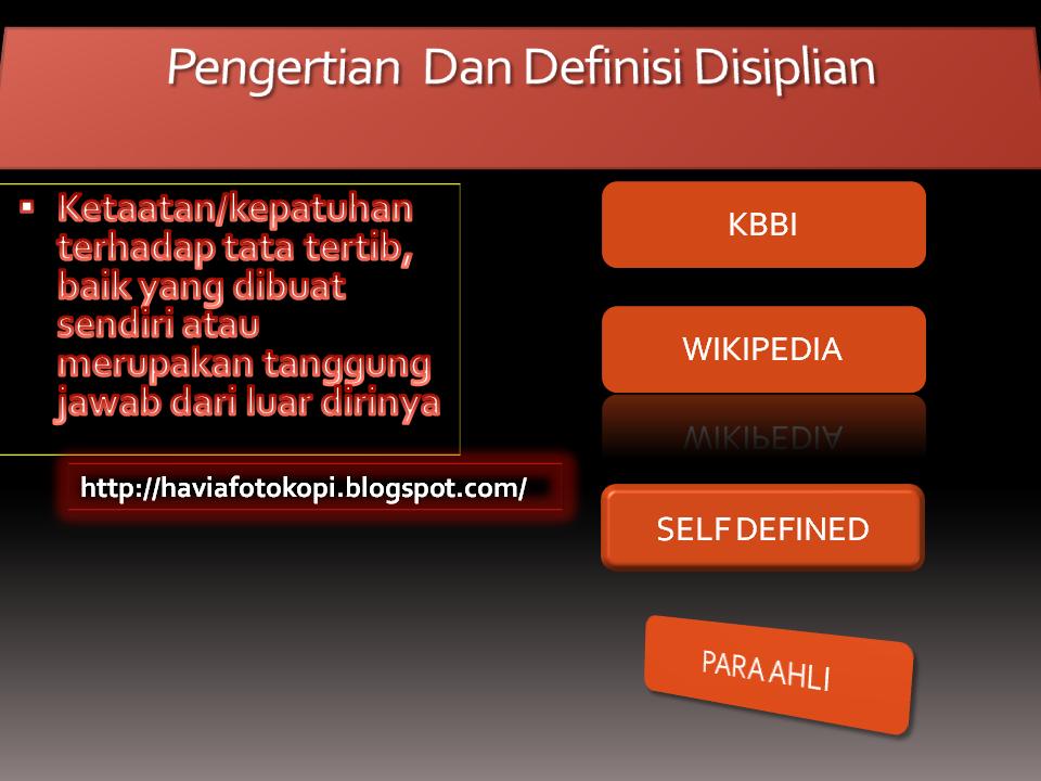 Pengertian dan Definisi Disiplin Menurut Para Ahli