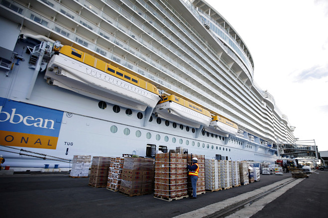 The Hopeful Traveler Keeping A Cruise Ship Afloat Oasis Of The Seas - Cruise ship supplies