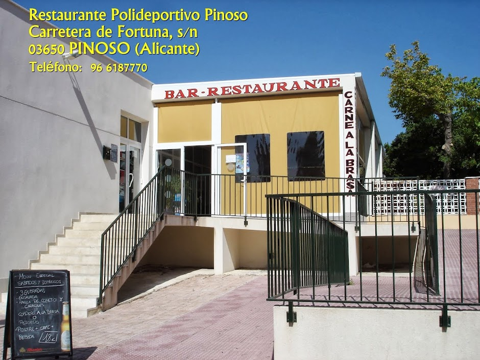 Restaurante Polideportivo Pinoso