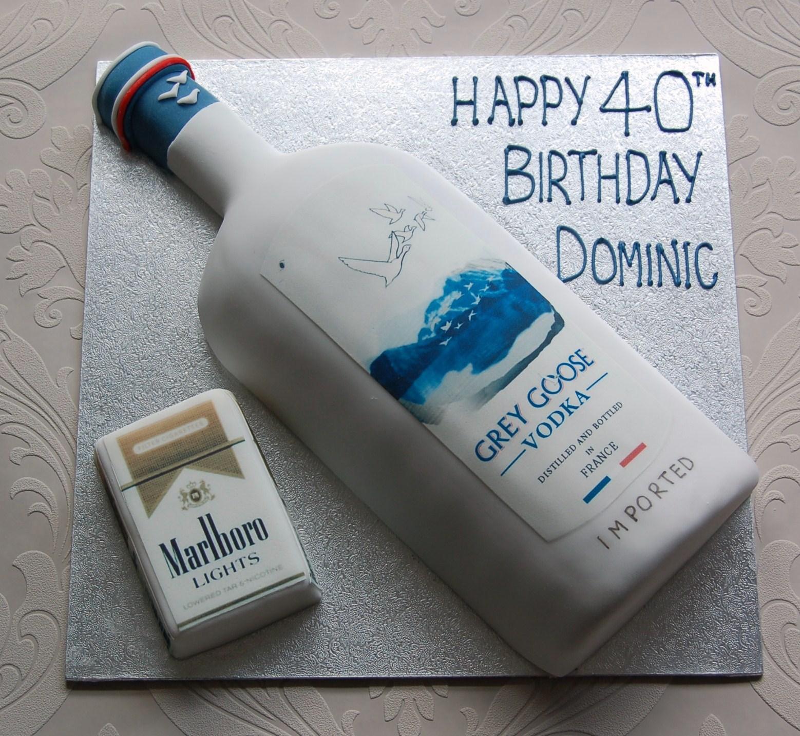 Vodka Bottle Cake Tin