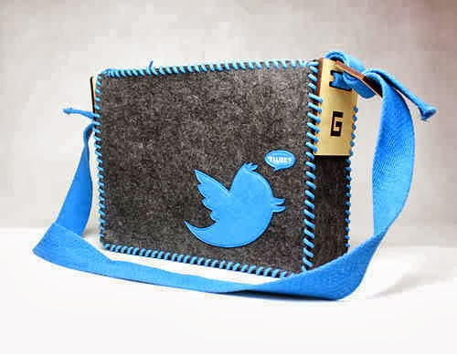 Twitter Messenger Bag