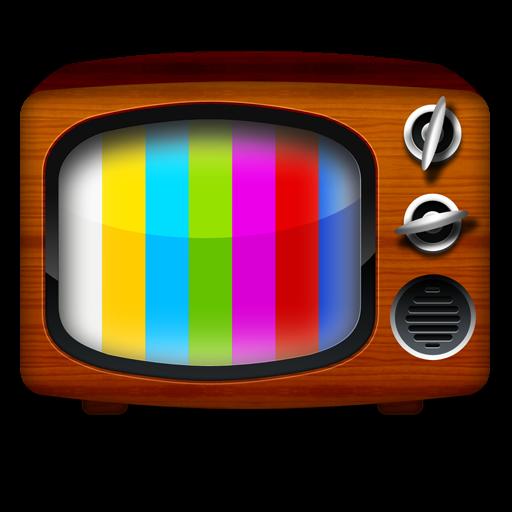 Vintage TV Icon PSD