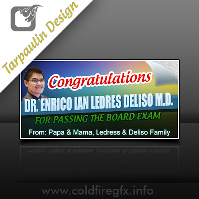 Congratulations Tarpaulin Template