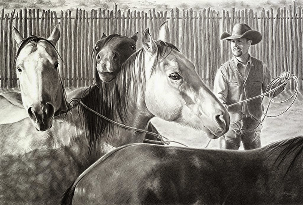 cuadros-de-vaqueros-dibujos