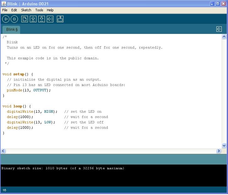 program arduino IDE