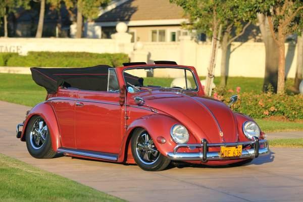 1956 VW Beetle Convertible Fully Restored | Auto Restorationice