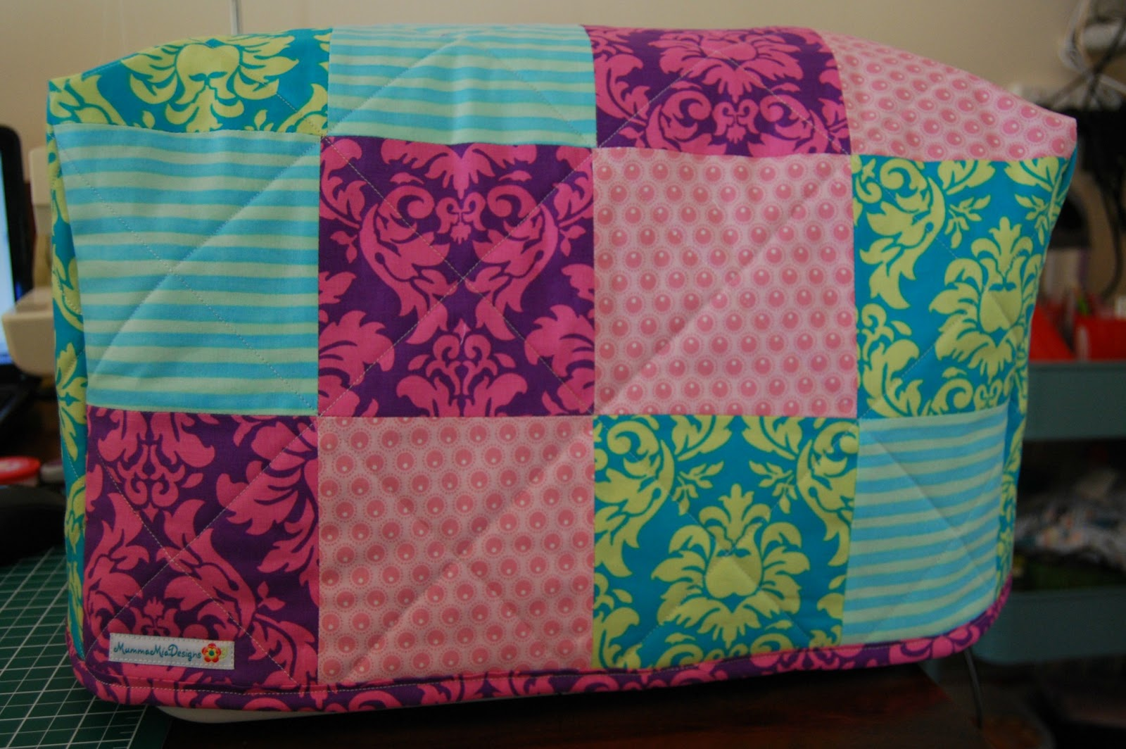 Quilted Sewing Machine Covers - Made By You! - Sew Delicious