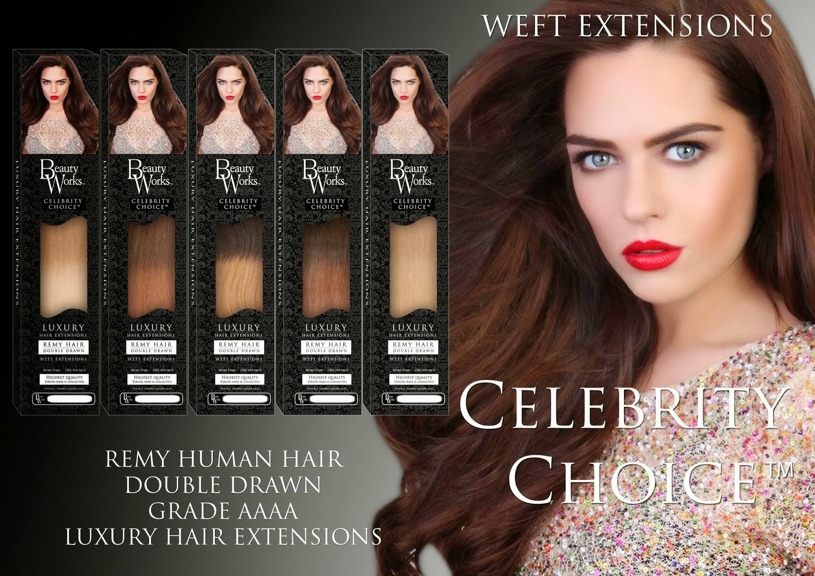 Weave Hair Extensions European Hair I Heart Cosmetics