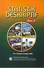 toko buku rahma: buku STATISTIK DESKRIPTIF EDISI 5, pengarang pangestu subagyo, penerbit BPFE yogyakarta