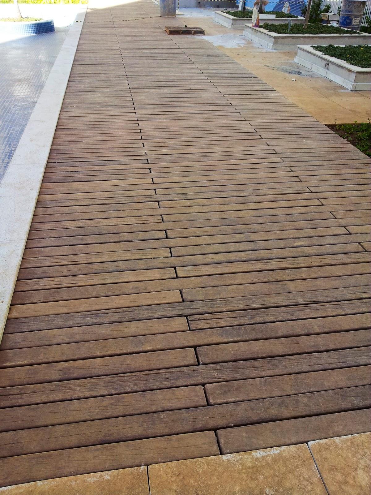 Pisos ciment cios e marmorizados pisos externos temos for Pisos ceramicos externos