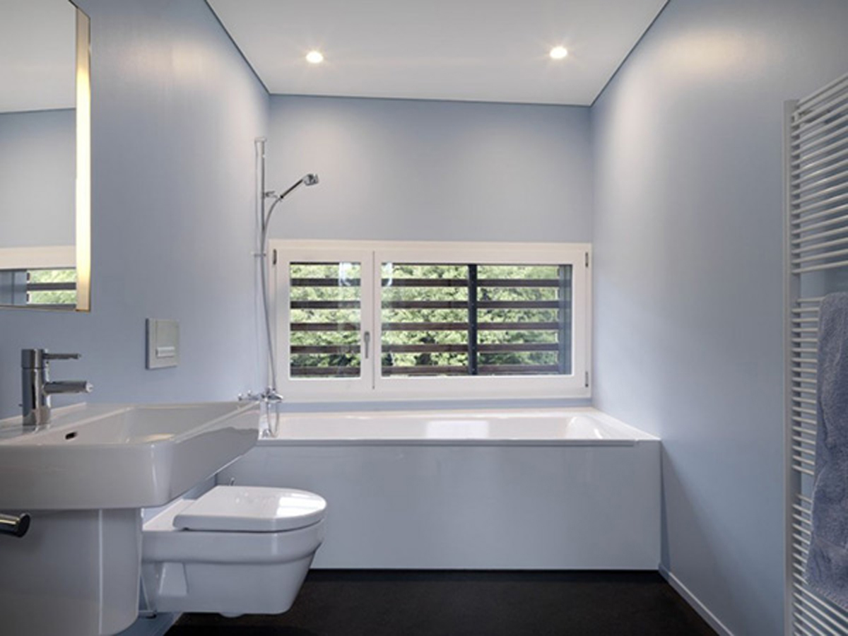 Home interior designs bathroom ideas photo gallery Simple contemporary bathroom design