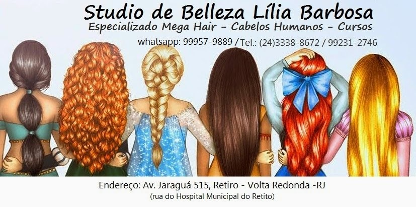 Studio de Belleza Lília Barbosa Especializado Mega Hair