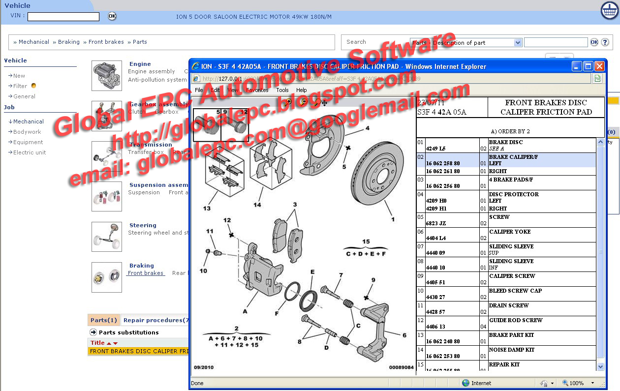 Peugeot Service Box Docs Backup Epc Parts Catalogue Repair Manuals 2011 328i Wiring Diagram Diagrams 92011 Complete Workshop System