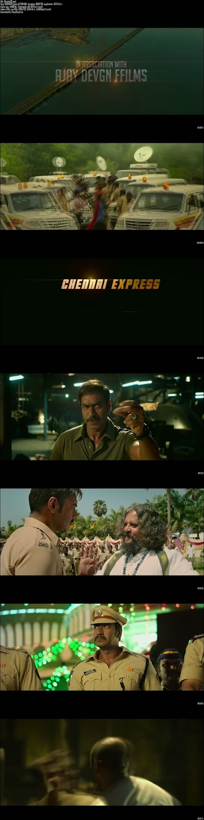 Mediafire Resumable Download Link For Teaser Promo Of Singham Returns (2014)