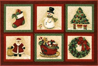 Carpetes personalizados para natal