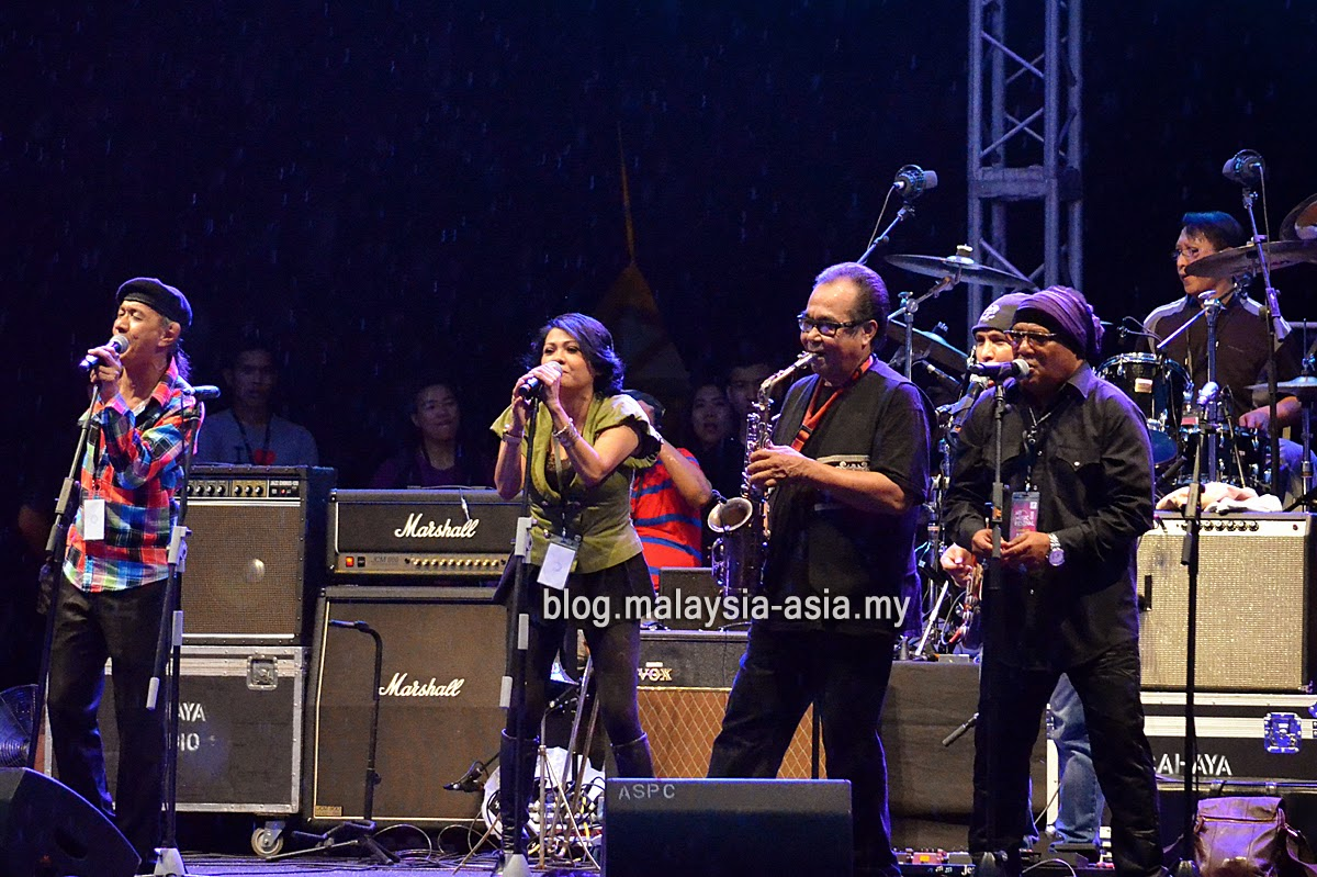 Heavy Machine Live at My Music Festival 2015 malaysia