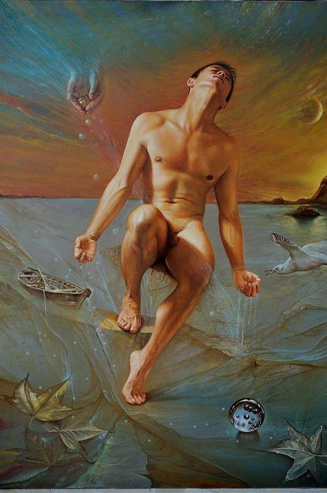 Ramiro Ramírez Cardona 1954 | Colombian Realist / symbolist painter