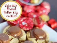 Cake Mix Peanut Butter Cup Cookies