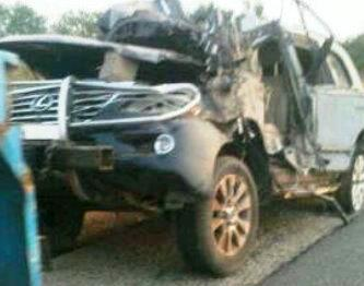Governor Idris Wadas Autocrash the bullet proof SUV