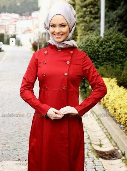 Manteau turque pour femme voilée