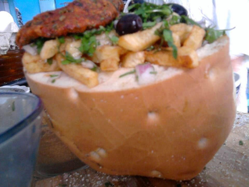 Recette d'un sandwich Tunisien