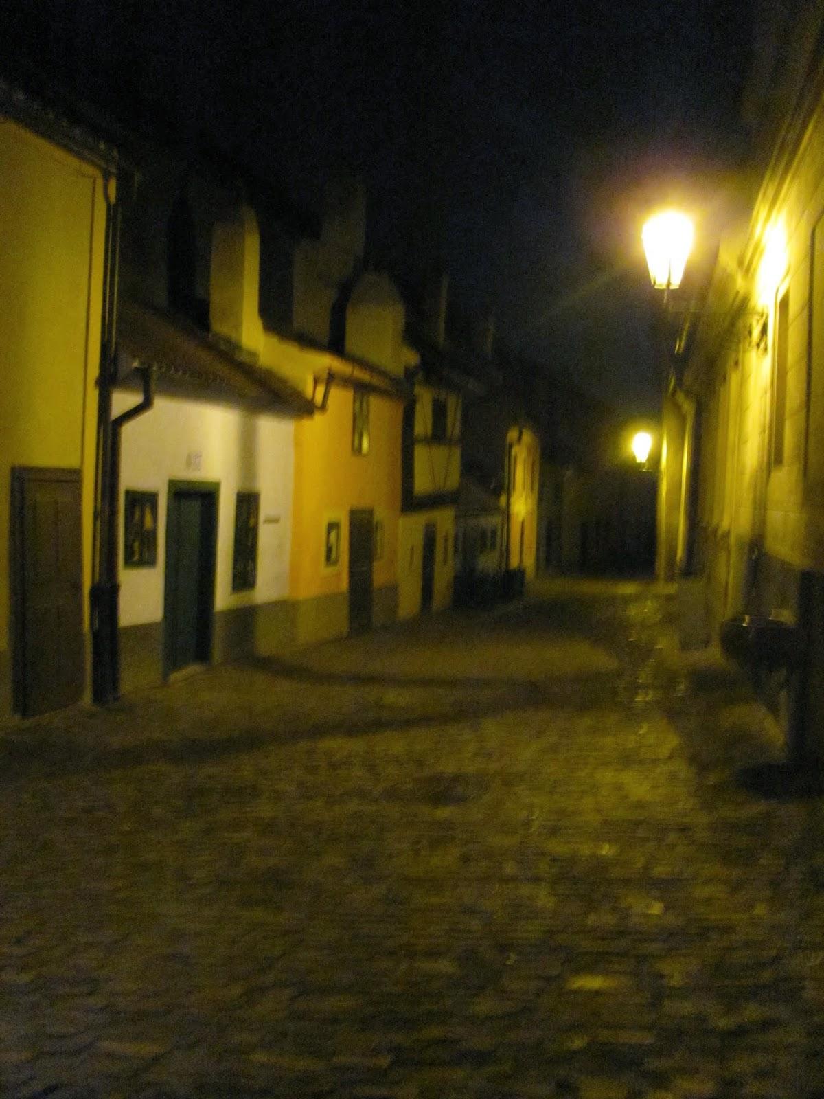The Golden Lane in Prague