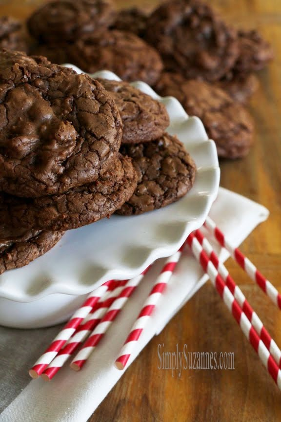 triple chocolate cookies!