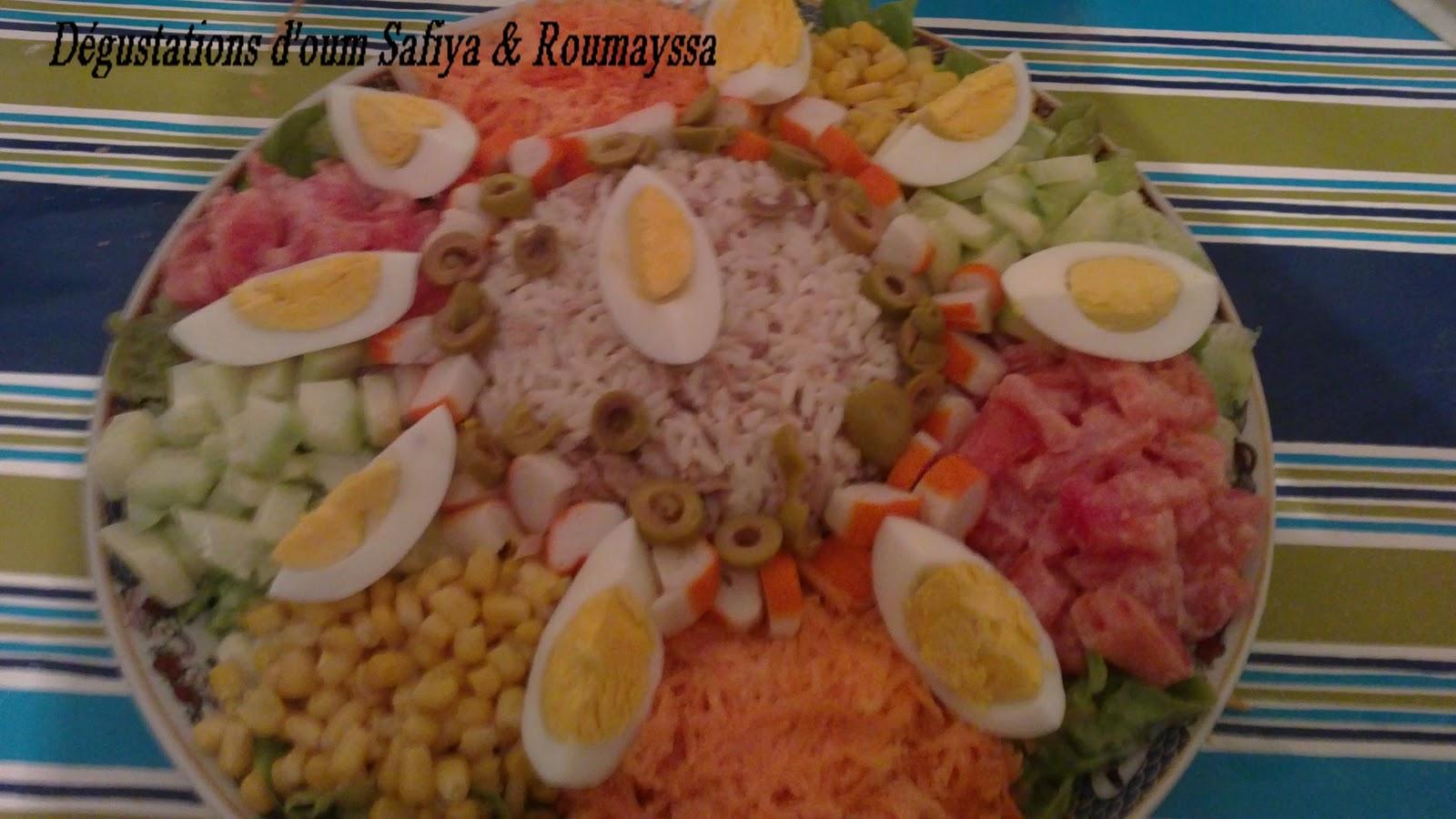 Top Dégustations d'Oum Safiya: Salade composé TM84