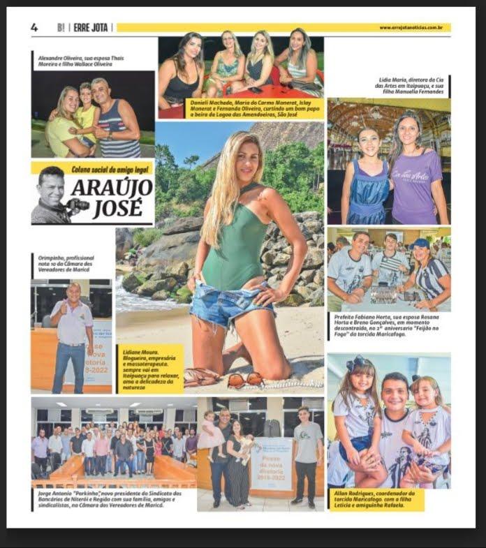Convite a Coluna do Jornal Errejota Notícias