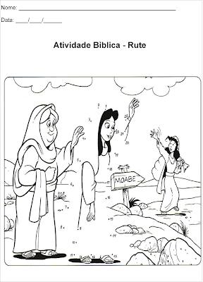 Atividade para colorir - Rute