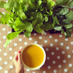 Mood = soup + gardening