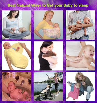 Best Natural Ways to Get your Baby to Sleep