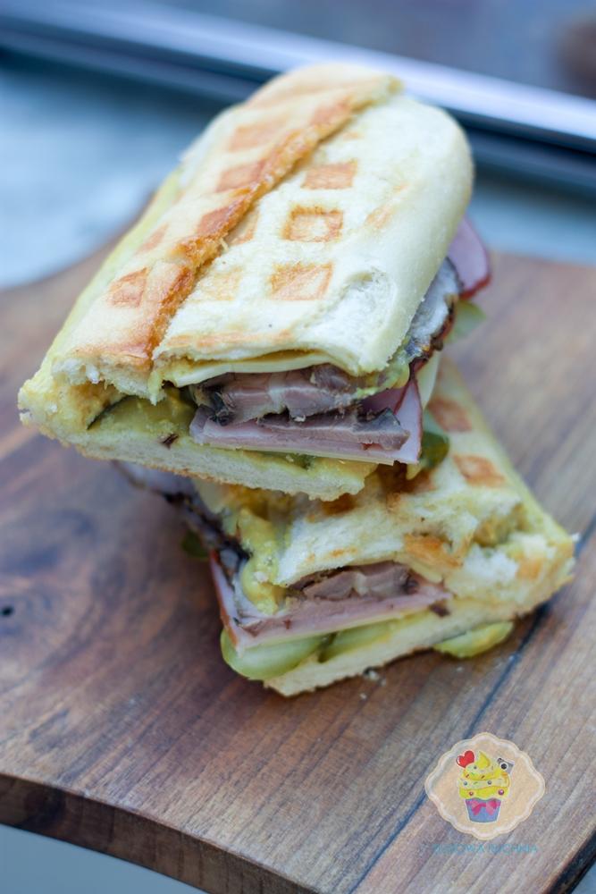cubana sandwich, kubańskie kanapki z chefa, cubana sandwich chef, kubańskia wieprzowina