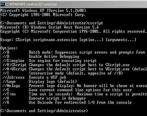 how to start a computer with command prompt