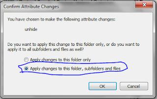 Cara Menampilkan Hidden Folder / File Tersembunyi Windows 7