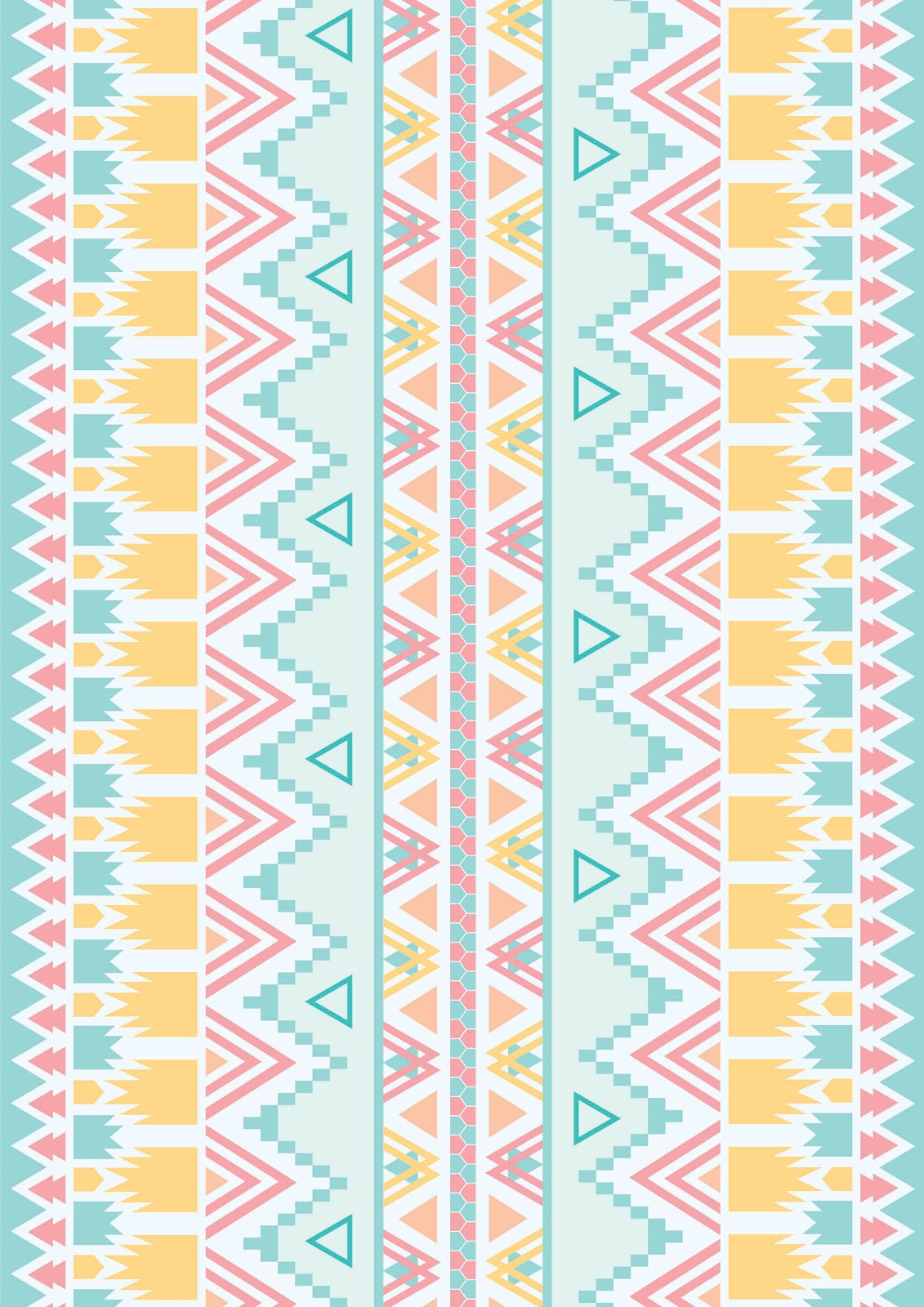 Neon Aztec Pattern Aztec pattern background
