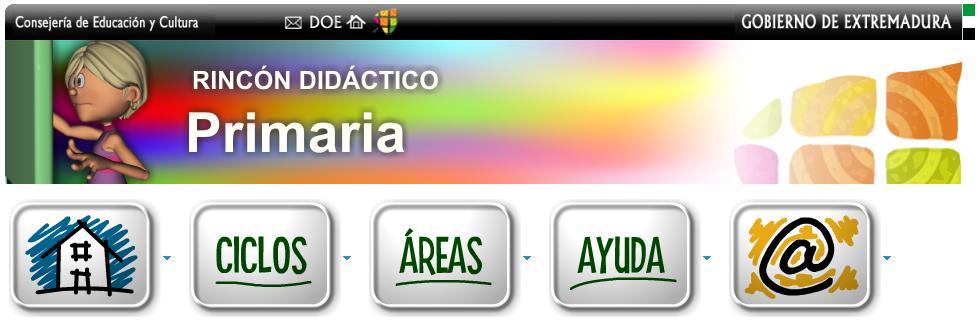 http://rincones.educarex.es/primaria/