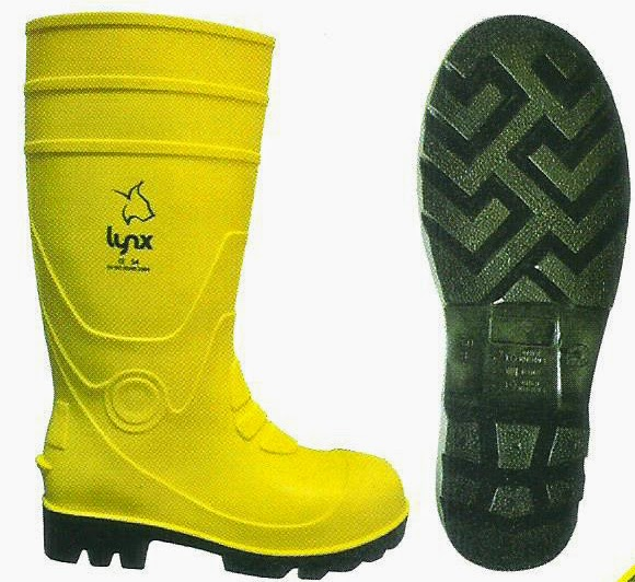 JUAL SAFETY RUBBER BOOTS