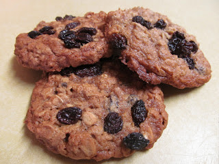 Starbucks Oatmeal Raisin Cookies